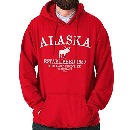 Alaska State - Trademark Printed Hooded Sweatshirt