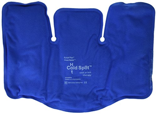 (Relief Pak Cold n' Hot SensaFlex compress, tri-sectional (8