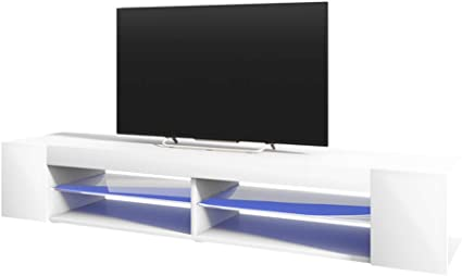 Selsey Mitchell - Mueble TV con LED/Mesa para TV/Mueble para Salón ...
