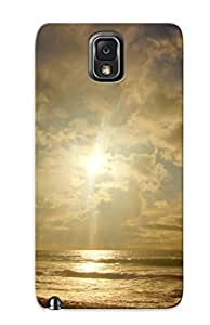 Eatcooment Snap On Hard Case Cover Cloudy Sunrise Protector For Galaxy Note 3