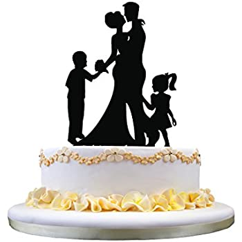 wedding cake toppers with baby boy wedding anniversary cake topper with 2 26625