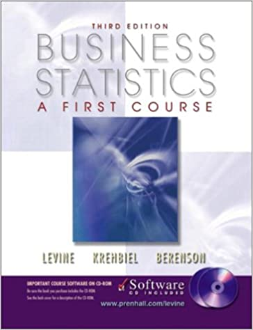 Business Statistics: A First Course and CD-ROM, Third Edition ...