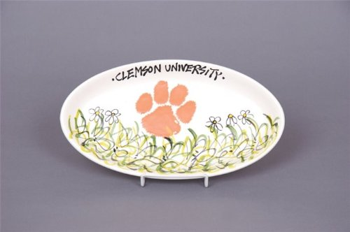 Magnolia Lane Clemson Tigers Deck the Halls Ornament