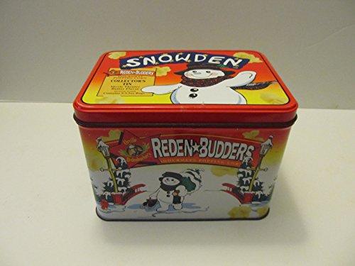 - 1998 Orville Redenbacher SNOWDEN Snowman Movie Collector's Popcorn Tin