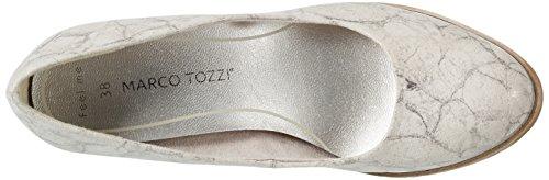 Marco Tozzi Women's 22407 Closed-Toe Pumps Beige (Dune Metallic 412) 4THJlU9