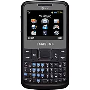 Samsung A177 Unlocked GSM Phone with VGA Camera, QWERTY Keyboard and Bluetooth v2.0 - Black