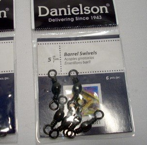 Danielson Barrel Swivels (Brass, 3)