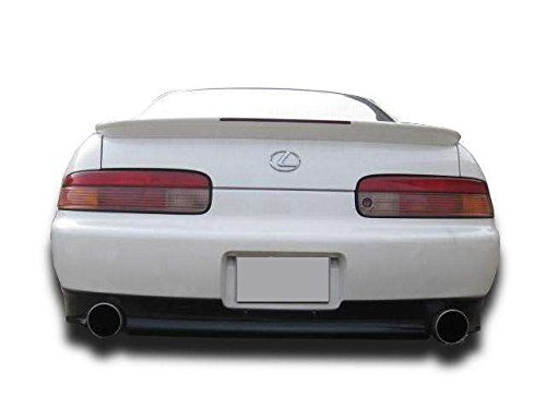 KBD Body Kits Compatible with Lexus SC SC300 SC400 1997-2000 Bunny Style 1 Piece Flexfit Polyurethane Rear Lip Made in the USA! Easy Installation Guaranteed Fitment Extremely Durable