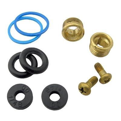 LASCO RV50 Phoenix-Streamway Brass Repair Kit with Washers, O-Rings, Bonnett Gasket and Screws
