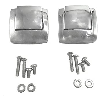 Motorcycle Razor Chopped King Tour Pack Pak Latch For Harley Davidson Touring Street Road Electra Glide 1980-2013 Discounts Price Home