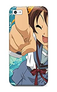 High Grade ZippyDoritEduard Flexible Tpu Case For Iphone 5c - The Melancholy Of Haruhi Suzumiya
