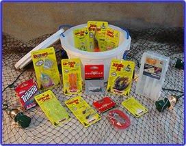 (Bass Bucket - O - Tackle/Fishing Gift Basket by Fishy Gifts)