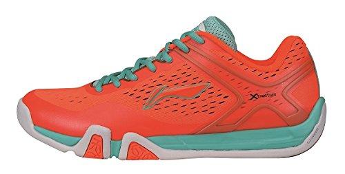 Orange Hallenschuh Ning Schuh X Herren Sportschuh Li Flash Badminton PqY8HHw
