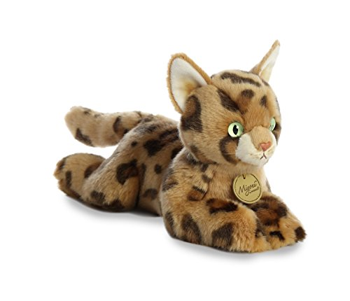 Aurora World Miyoni Plush Toy Animal, Bengal Cat (Best Bengal Cat Breeders)