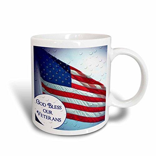 3dRose WhiteOak Photography American Flag