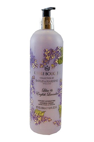 (Baylis & Harding Lilac & Lavender Luxury Hydrating Shower Cream Royale Bouquet Collection. 500ml.)