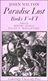 img - for Paradise Lost: Books 5-6 (Cambridge Milton Series for Schools and Colleges) (Bk. 5-7) book / textbook / text book