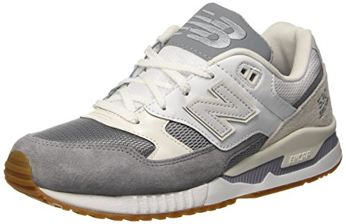 New Balance Mens M 530 Ab Low Top Trainers Beige Size 42