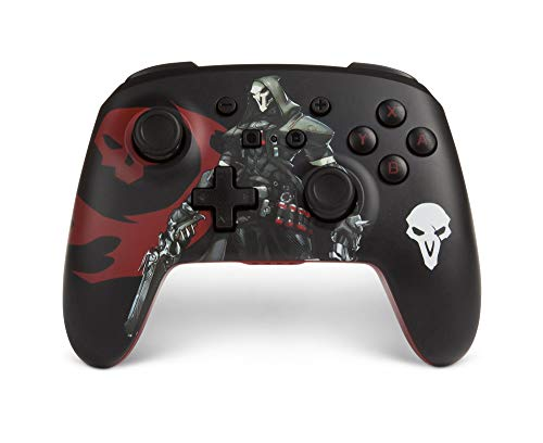 PowerA Overwatch Enhanced Wireless Controller for Nintendo Switch - Reaper - Nintendo Switch
