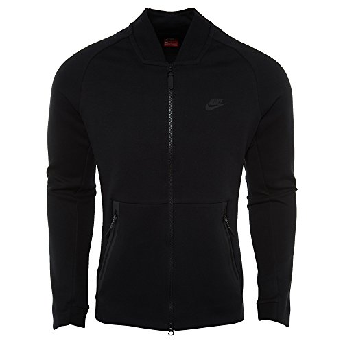 (Nike Tech Fleece Varsity Jacket Mens Style: 886617-011 Size: XL)