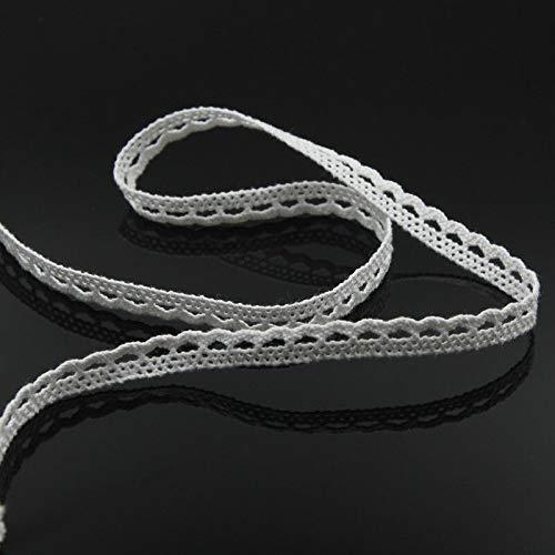 MOPOLIS 5 Meter Vintage Cotton Crochet Lace Trim Wedding Bridal Ribbon Sewing Craft New | Style - #2