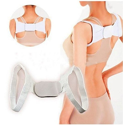 Support Back Belt Yoga Body Posture Corrector Anti Humpback Back Shoulder Braces Supports by STCorps7