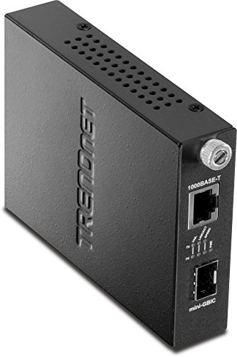 - TRENDnet 100/1000Base-T to SFP Media Converter, TFC-1000MGA