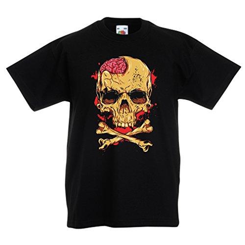 N4613K-Kids-T-shirt-The-Skull