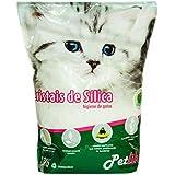 Areia de Silica Petlike, 1,6kg, Aroma Natural Petlike para Gatos