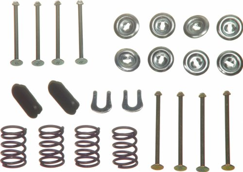 Wagner H4049 Brake Hold Down Spring Kit, (Kit Plymouth)