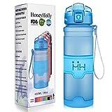 HoneyHolly Portable Sports Water Bottle-Leak