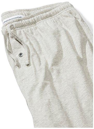 Amazon Essentials Men's Knit Pajama Pant, Light Grey Heather, Medium by Amazon Essentials (Image #4)