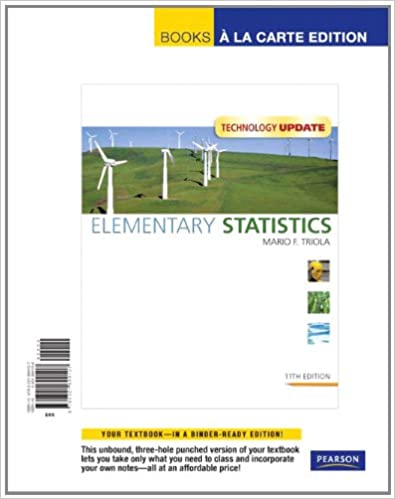 Amazon com: Elementary Statistics Technology Update: Books a