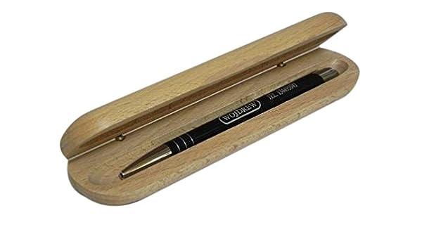 Estuche de madera para lápices, organizador de papelería de ...