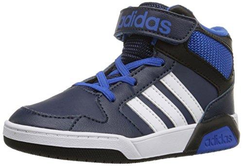 adidas Neo Boys' BB9TIS Toddler Inf Sneaker, Collegiate Navy/White/Satellite, 4 M US Toddler BB9TIS 666bee