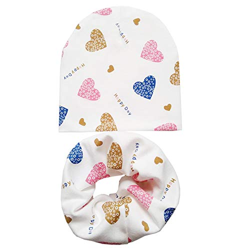 New Spring Autumn Winter Cotton Baby Hat Scarf Bib Boys Girls Kids Beanies Cap Scarf Collar Children Hat Neck ()