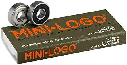 Mini-Logo Skateboards Bearings (Pack of 8)