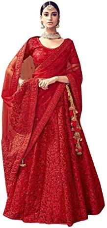Ethnic Emporium Women S Priyanka Chopra Inspired Red Bridal
