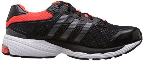 Adidas Herren Laufschuh Lightster Cush M20539, schwarz/silber/rot, UK (10.0)