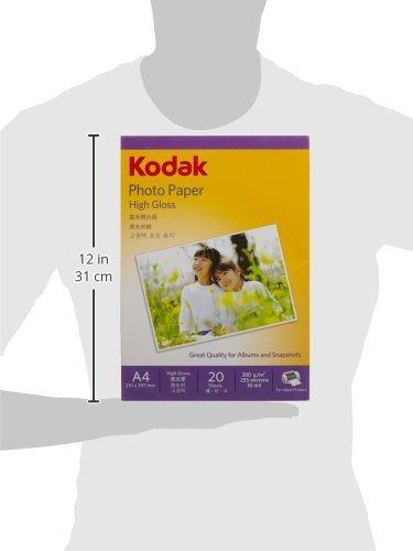Kodak Photo Paper High Gloss 200 GSM A4 Size 100 sheets