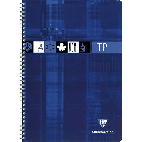 Clairefontaine 8937c Cahier De Travaux Pratique à Spirale