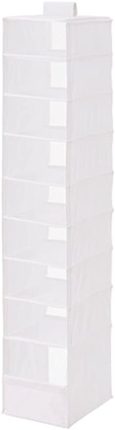 White IKEA Hanging Organizer with 9 Compartments