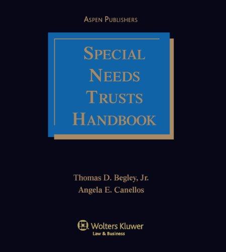 Special Needs Trust Handbook