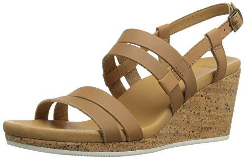 Teva Women's Arrabelle Leather Sandal, Tan, 8.5 M - Teva Cork Sandals