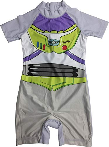 Boys Toy Story Buzz Lightyear Swimsuit 18-24 Months Green -