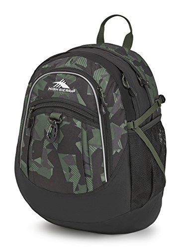 High Sierra Fatboy Backpack, Shattered (Pack Black Olive)