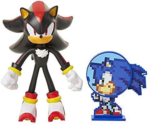 Sonic Shadow Tails Characters 6 Piece Action Figures Toy Hedgehog Model Figurine