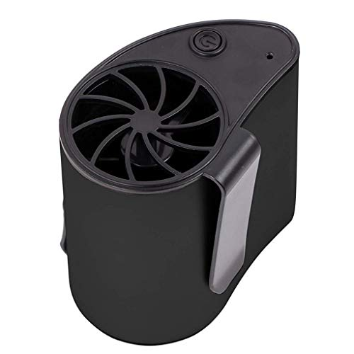 Togethor Small Personal USB Desk Fan,3 Speeds Portable Desktop Table Cooling Fan Powered by USB,Strong Wind,Quiet Operation,for Home Office Car Outdoor Travel (Natural (Best Hunter Tops Bathroom Exhaust Fans)