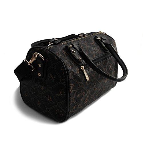 ZMOKA® Noir von 0 bowling Pieralli pour Sac noir Giulia noir femme multicolore Multicolore präsentiert Rwqt7E7P