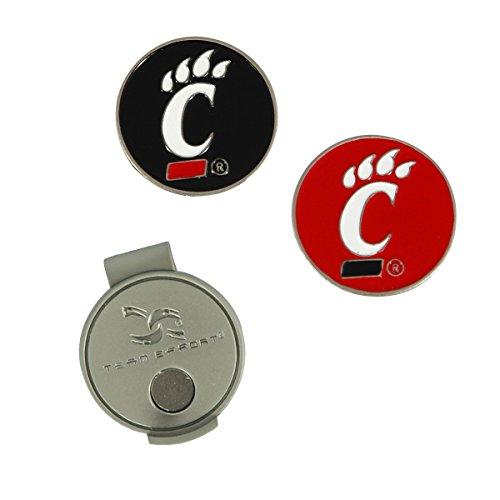 - Team Effort Cincinnati Bearcats Hat Clip & 2 Ball Markers